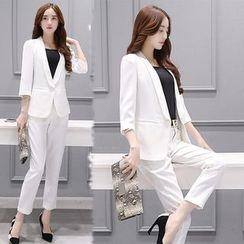 Ashlee - 套裝: 西裝外套 + 西裝褲