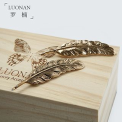 Luonan - Feather Collar Pins