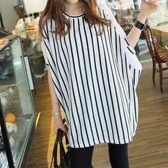 Jolly Club - Striped Loose-Fit Top