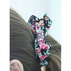 kitsch island - Floral Print Hair Clamp
