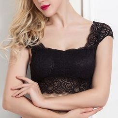 Don Han - Lace Bra Top