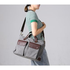 MooMoo Bags - Retro Canvas Shoulder Bag