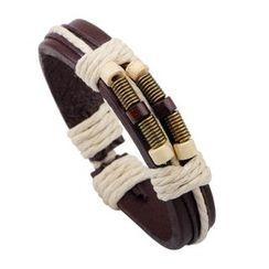 KINNO - Wooden Bead Woven Bracelet