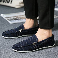 Preppy Boys - Pattern Moccasins