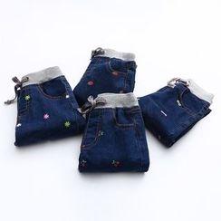 Seashells Kids - Kids Embroidered Jeans