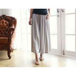 DANI LOVE - Pleated Wide-Leg Pants