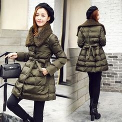 AiSun - Fleece-lined Padded Coat