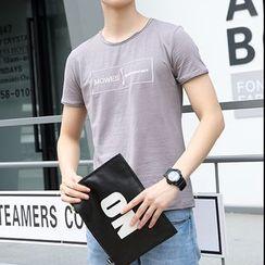VILUNI - Letter Short-Sleeve T-shirt