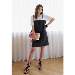 REDOPIN - Inset T-Shirt Dress