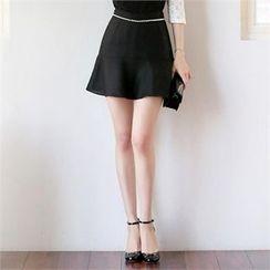 Styleonme - A 字裙褲