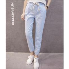 MAVIS - Plain Drawstring Pants