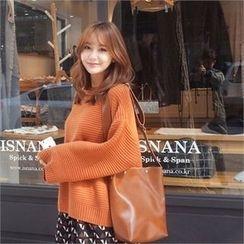 Styleberry - Wide-Sleeve Sweater