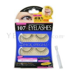 D-up - Eyelashes - Straight Type (#107)