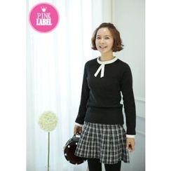 Lemite - Contrast-Trim Sweater