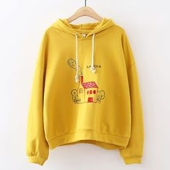 ninna nanna - House Embroidered Hoodie