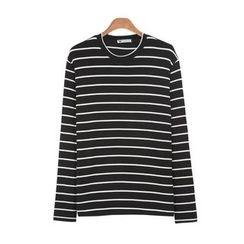 DANGOON - Crew-Neck Striped T-Shirt