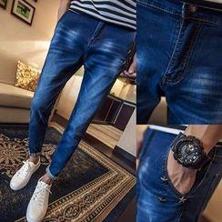 Alvicio - Star Studded Jeans