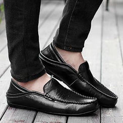 NOVO - Genuine Leather Fleece-lined Loafers