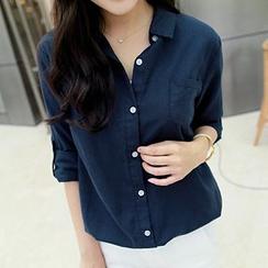 CLICK - Tab-Sleeve Shirt