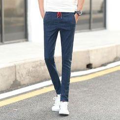 Hawoo - 窄身牛仔褲