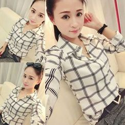 YOSH - Check Blouse
