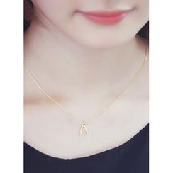 kitsch island - Metallic Necklace