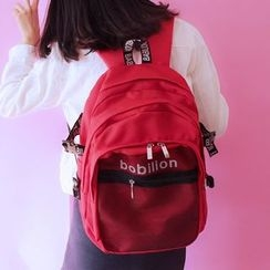 Bolso - Lettering Backpack