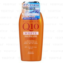 Kose - CoenRich Q10 White Body Milky Lotion (Orange)