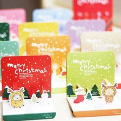 OH.LEELY - Set of 10: Christmas Cards