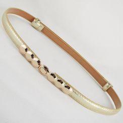 Goldenrod - 金屬飾扣細腰帶