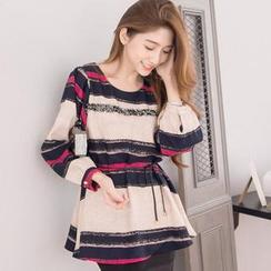 Tokyo Fashion - Striped A-Line Top