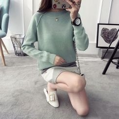 Qimi - Faux Pearl Sweater