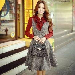 Dabuwawa - Sleeveless A-Line Dress