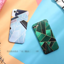 Hachi - Geometric Print Phone Case - Apple iPhone 6 / 6 Plus / 7 / 7 Plus