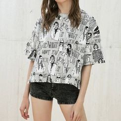 CBRL - Short-Sleeve Print T-Shirt
