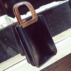 Nautilus Bags - Faux Leather Hand Bag