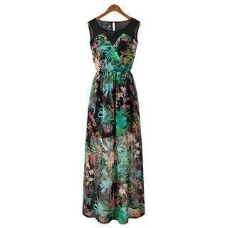 LULUS - Floral Maxi Dress