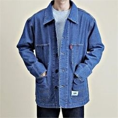 THE COVER - Pocket-Front Denim Jacket