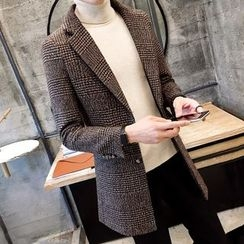 Orizzon - Notched-Lapel Buttoned Coat
