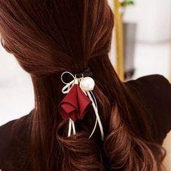 Aurabe - Faux Pearl Hair Tie