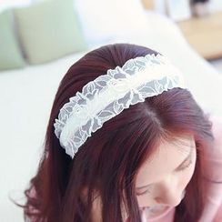 soo n soo - Laced Head Band