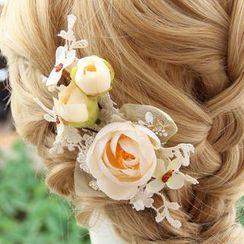 constello - Flower Bridal Hair Clip