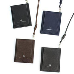 iswas - 'HMM' Series Card Case With Strap