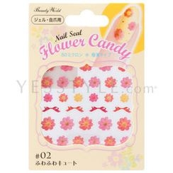 LUCKY TRENDY - Flower Candy Nail Seal (#02)