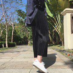 A7 SEVEN - Pleated Wide Leg Pants