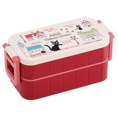 Skater - Kiki's Delivery Service Tight 2 Layer Lunch Box (Machi)
