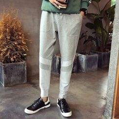 Besto - Paneled Sweatpants
