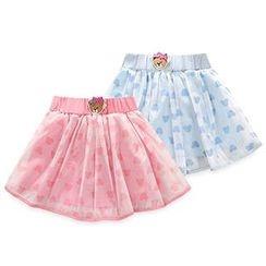 BINPAW - Kids Bear Applique Tulle Skirt