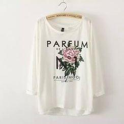 RainbowDay - Long-Sleeve Printed T-Shirt