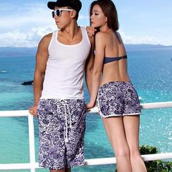 Tamtam Beach - Printed Couple Shorts